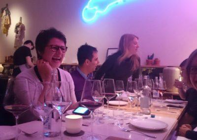 Sabine Ula Team Dinner