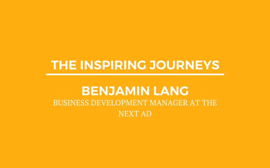 Inspiring Journey Video with Benjamin Lang