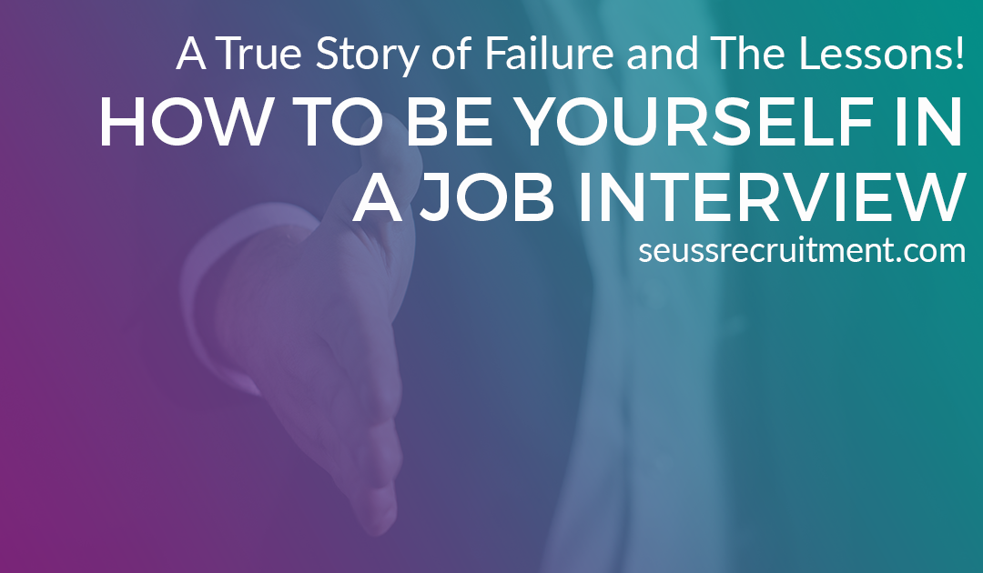 How to be yourself in a job interview (Continued…)
