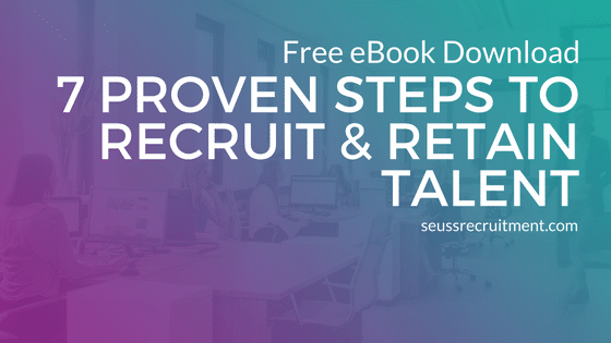 Seuss Recruitment releases first eBook: 7 Proven Steps to Recruit & Retain Talent