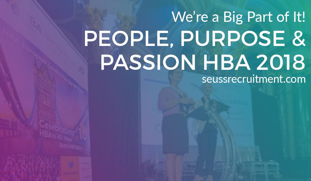 People, Purpose & Passion HBA 2018 European Leadership Summit