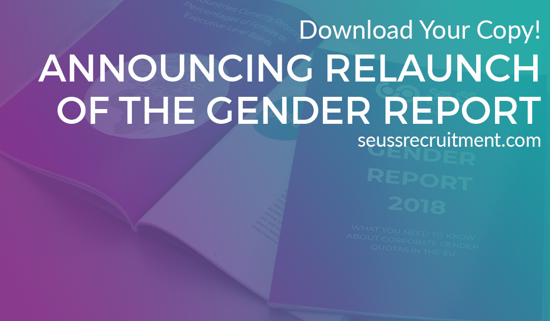 Seuss Recruitment Announces Relaunch of the Gender Report